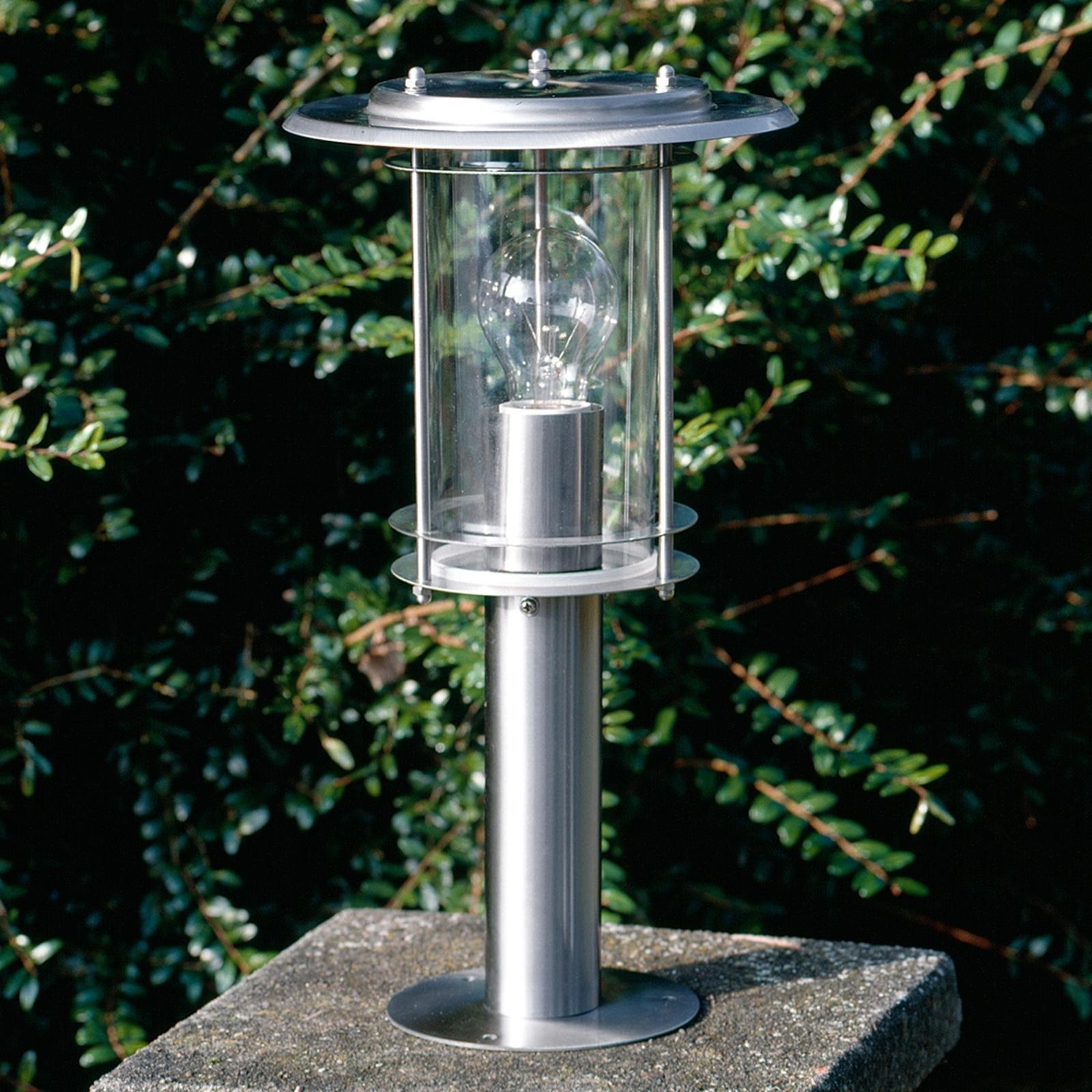 Piękna lampa na cokół Merena