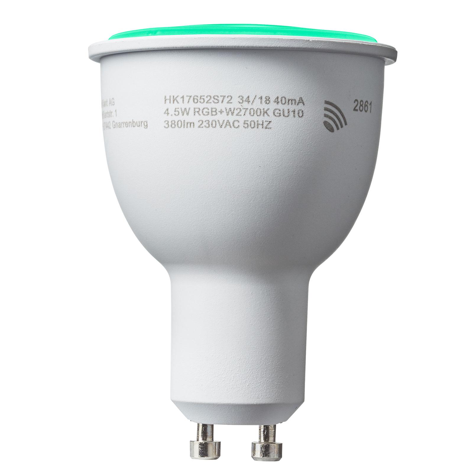 Bombilla reflectora LED GU10 4,5W Smart-Tuya RGBW