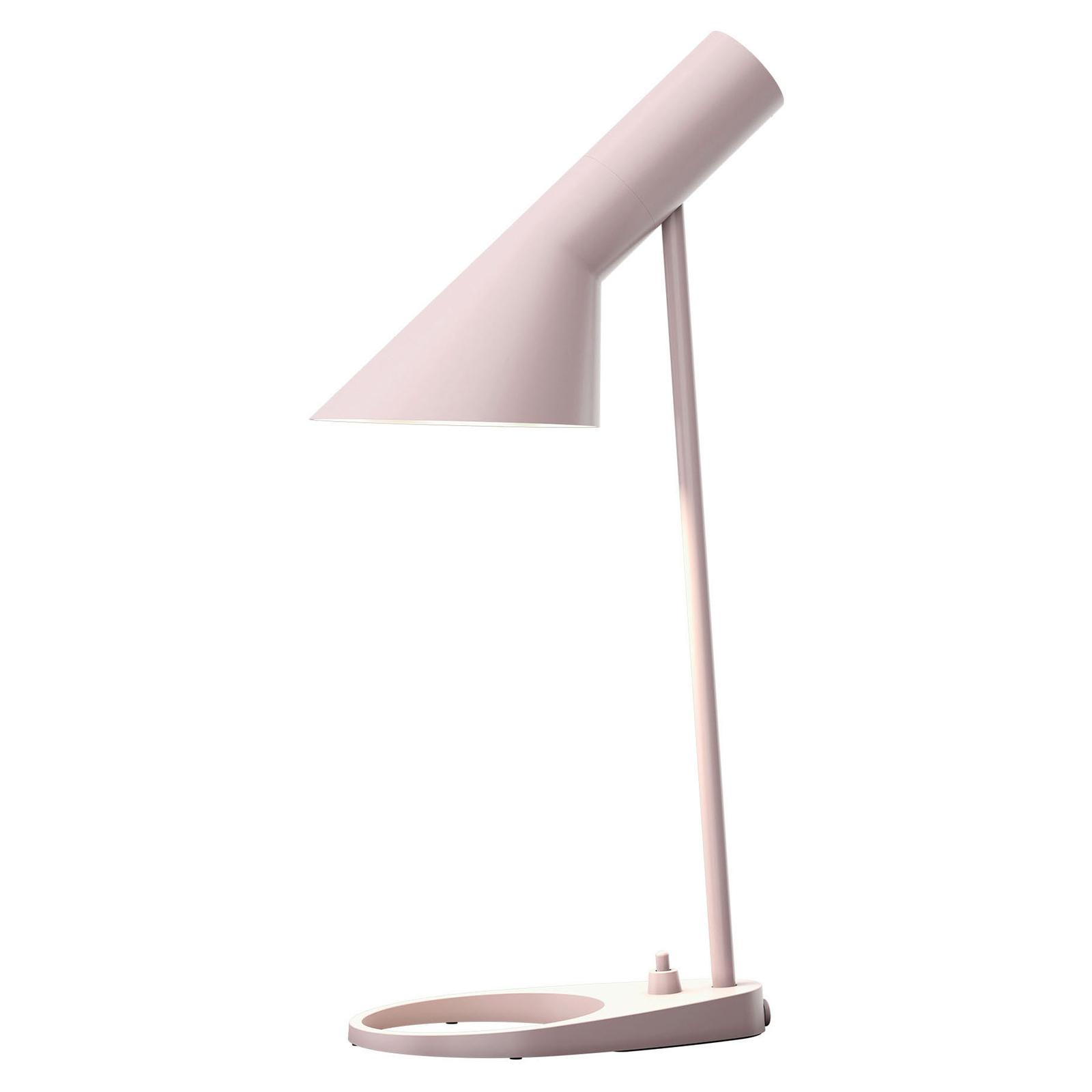 Louis Poulsen AJ Mini da tavolo, rosa chiaro