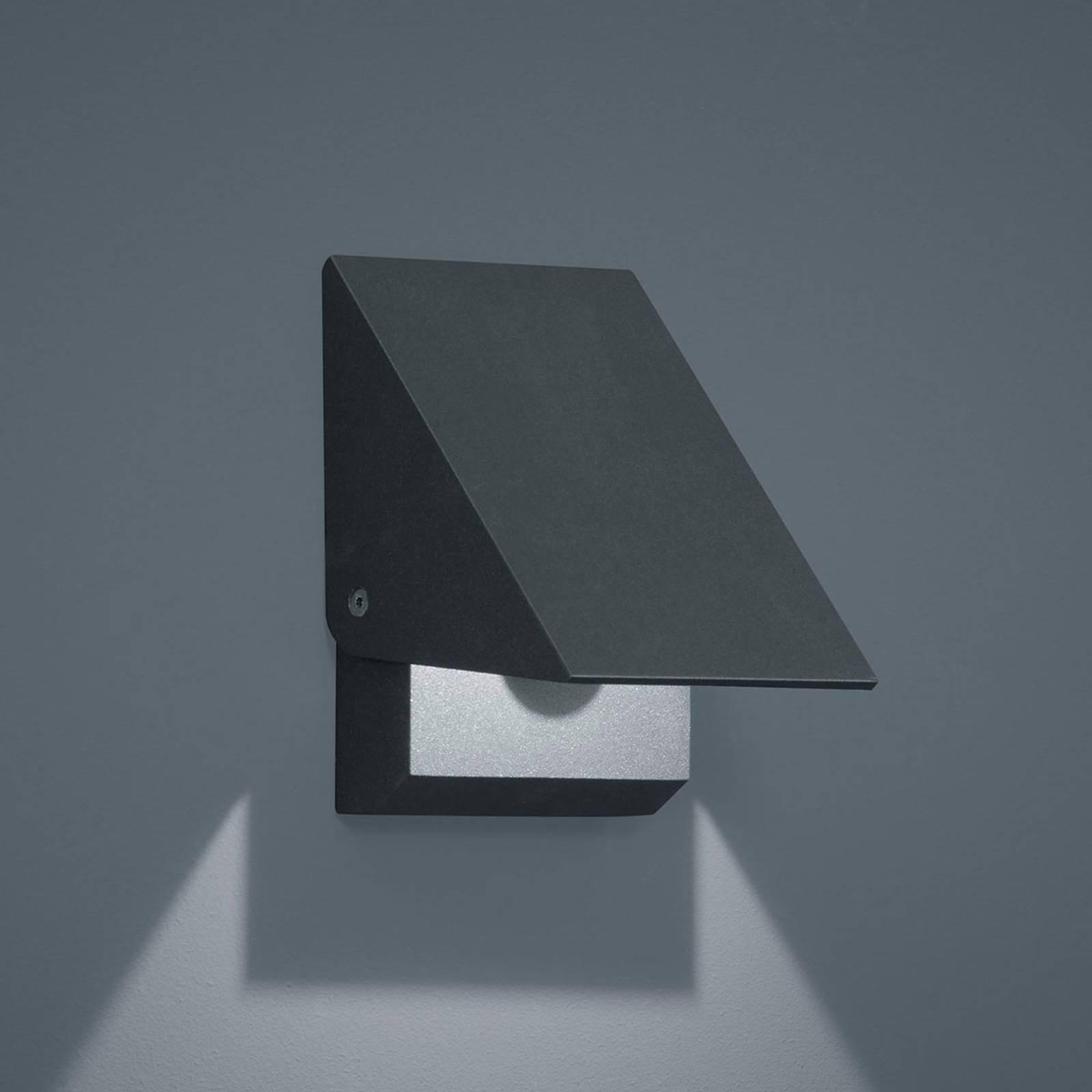 Helestra Free LED buitenwandlamp grafiet opening