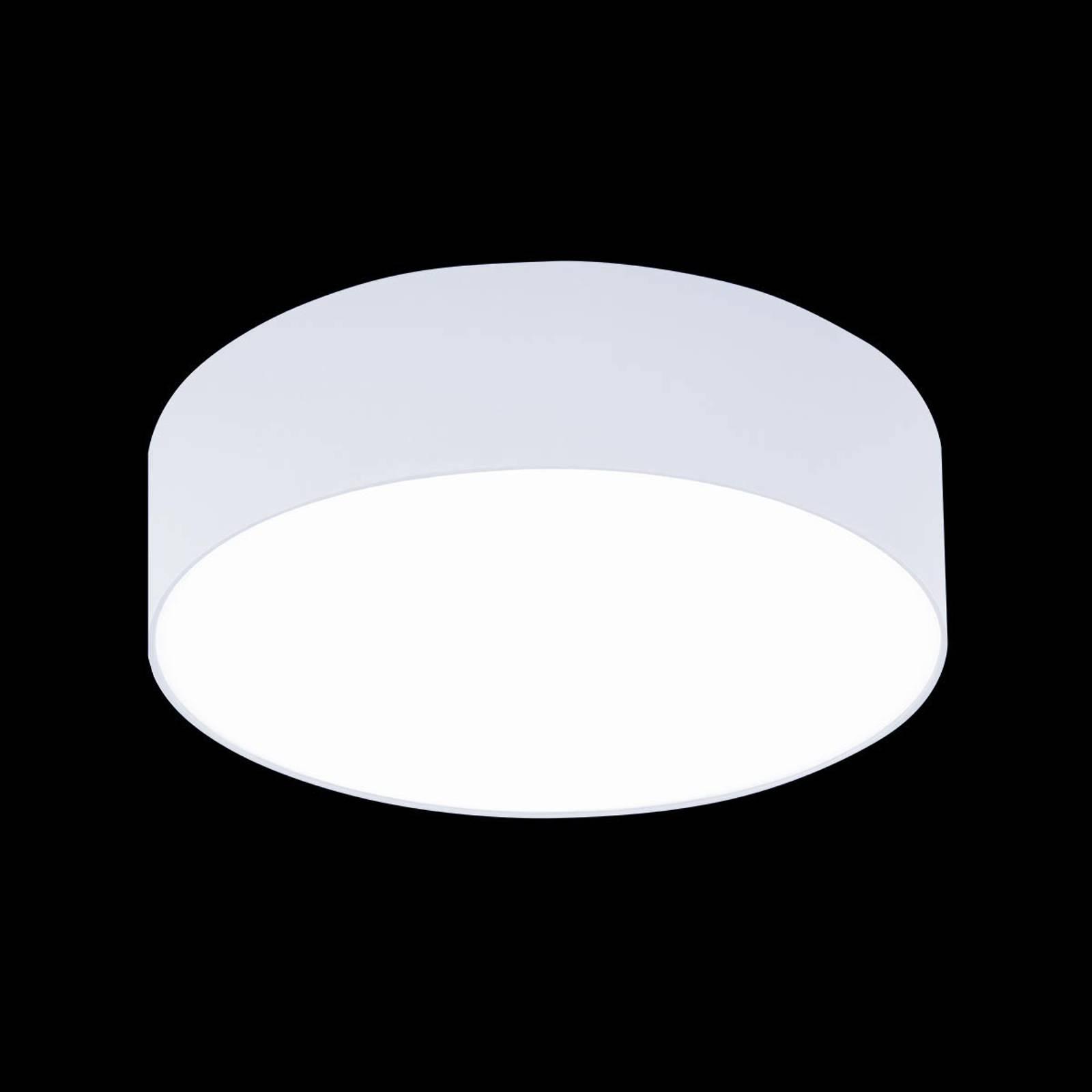 Witte plafondlamp Mara, 50 cm