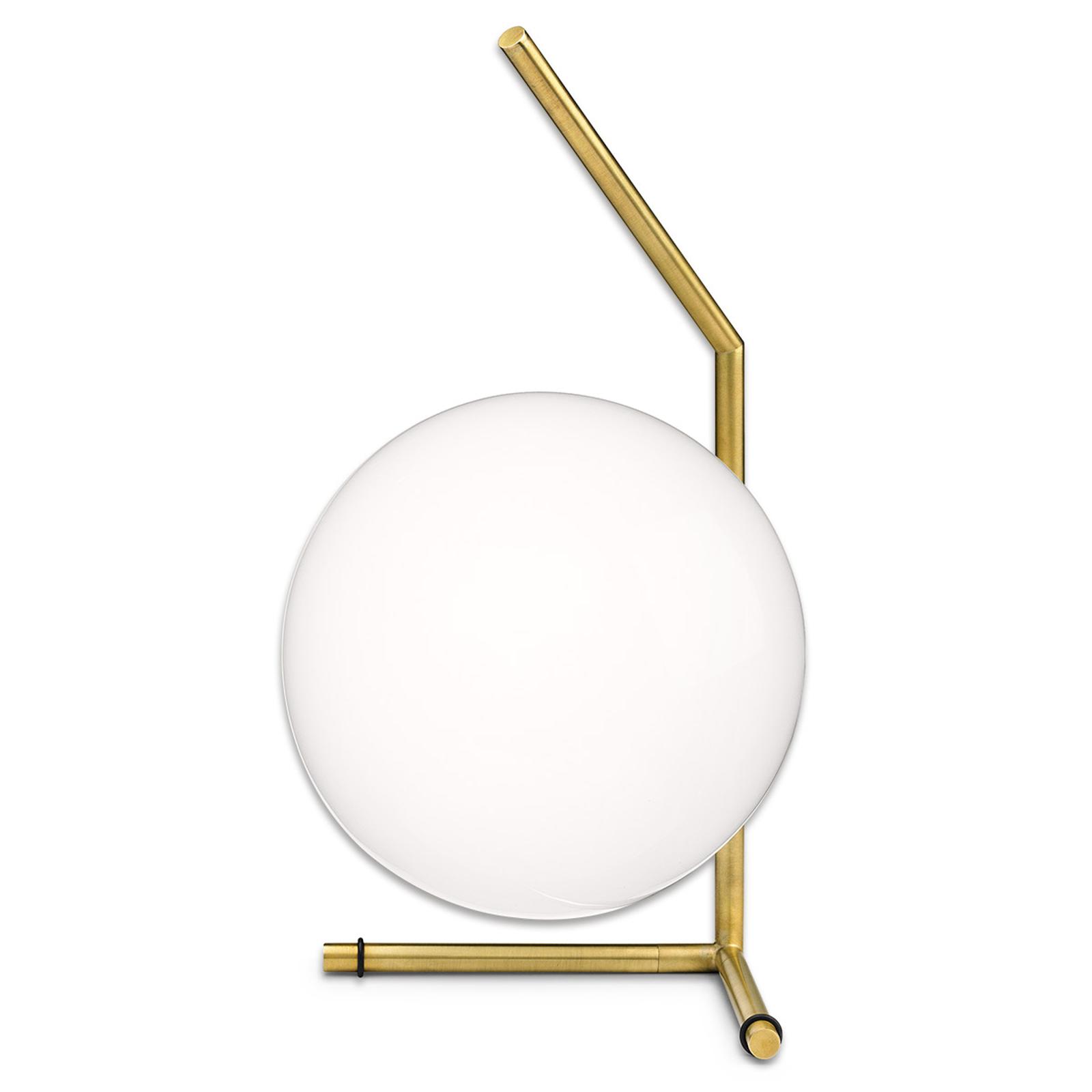 FLOS IC T1 Low – dizajnérska stolná lampa mosadz