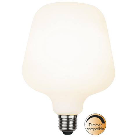 LED žárovka E27 5,6W 2 600K Trapez ST125, stmívat.