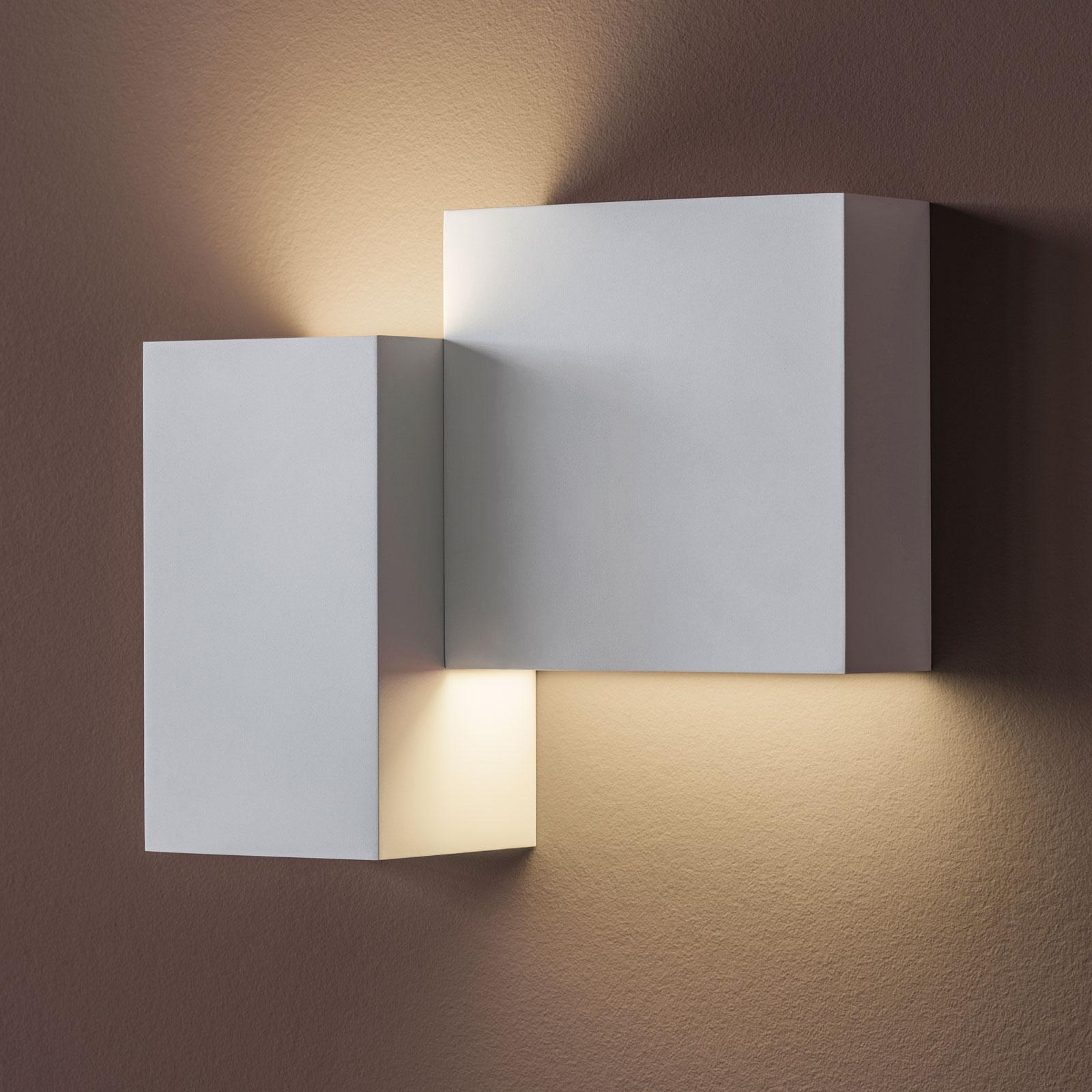 Vibia Structural 2602 LED wandlamp, lichtgrijs
