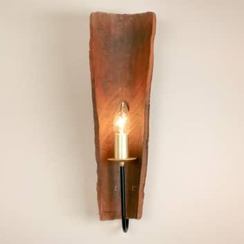 Menzel Country Tonziegel-Wandlampe, Licht direkt