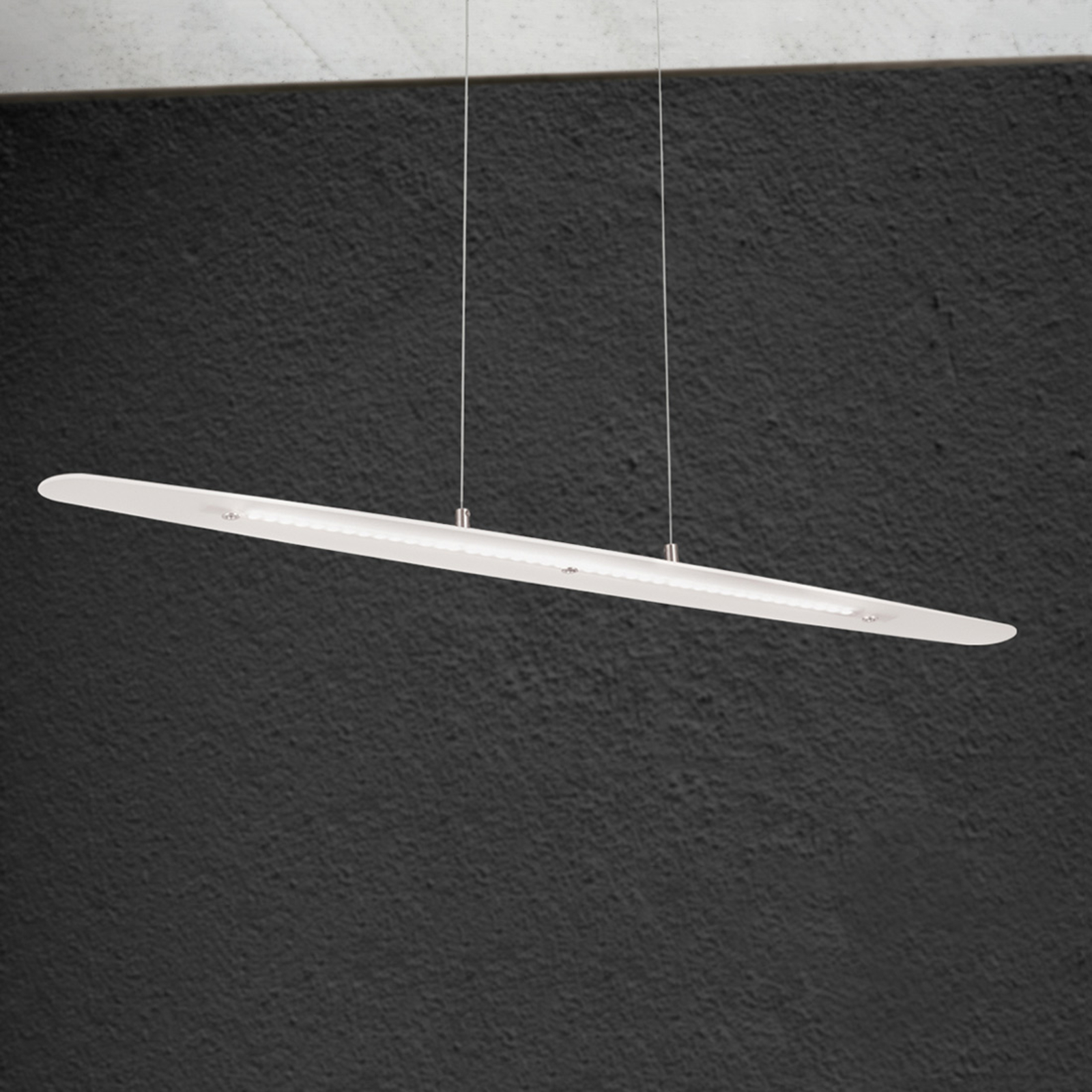 Lampada a sospensione LED Sabira allungata