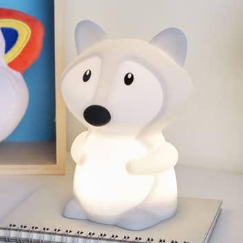 Pauleen Good Night Fox -LED-yövalo, värin vaihto