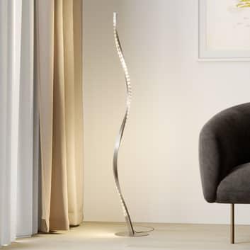 Lindby Criostal LED stojací lampa se změnou barvy
