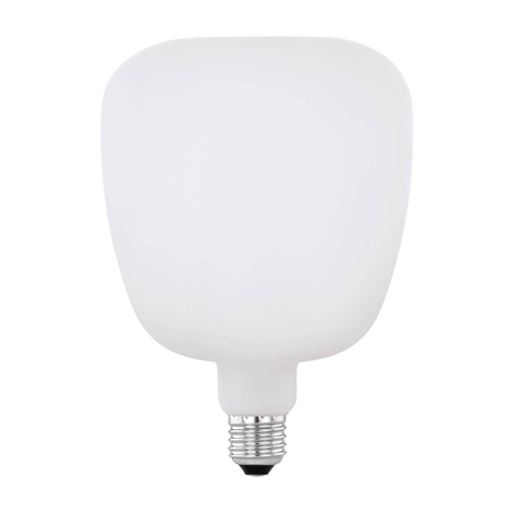 LED-Lampe E27 4W Big Size opal in besonderer Form