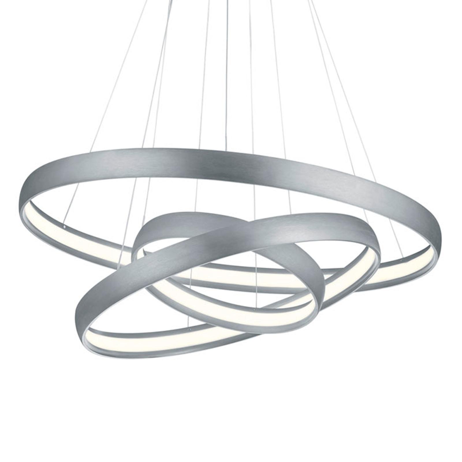 Heldere LED hanglamp Macau met switchdim-functie