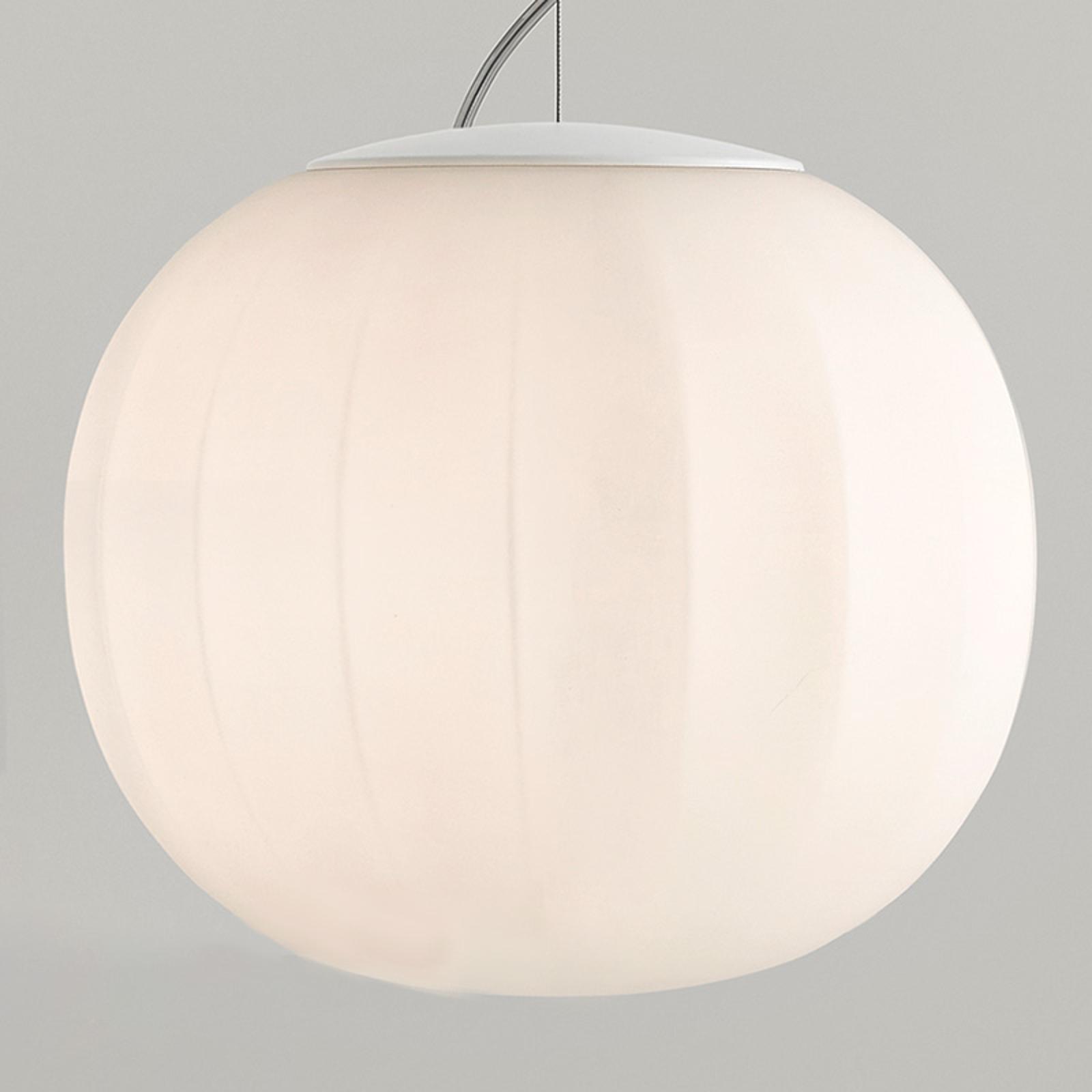 Luceplan Lita Hängeleuchte Abhängung weiß Ø 30 cm