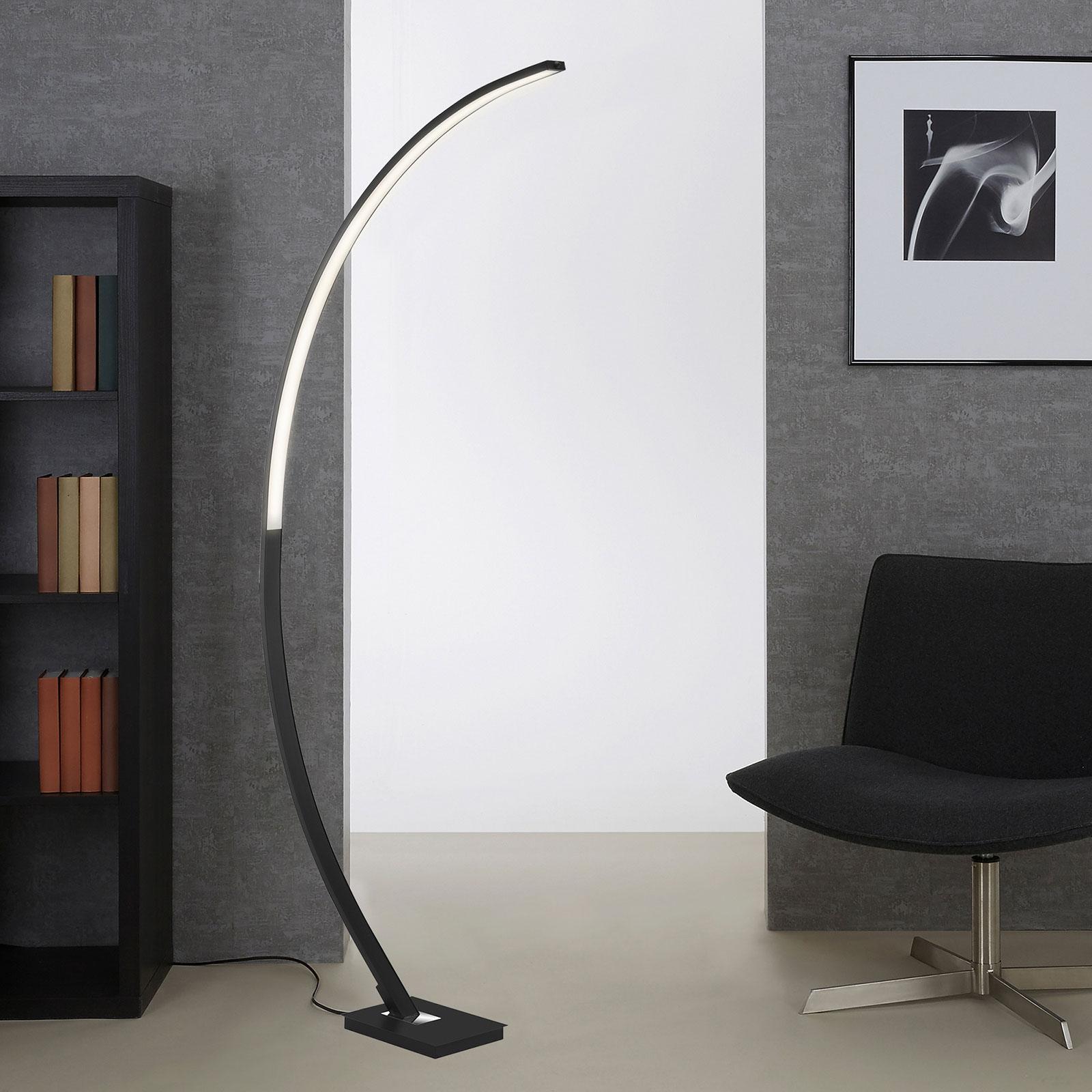 LED-buelampe 1361-015 med dimmer, svart