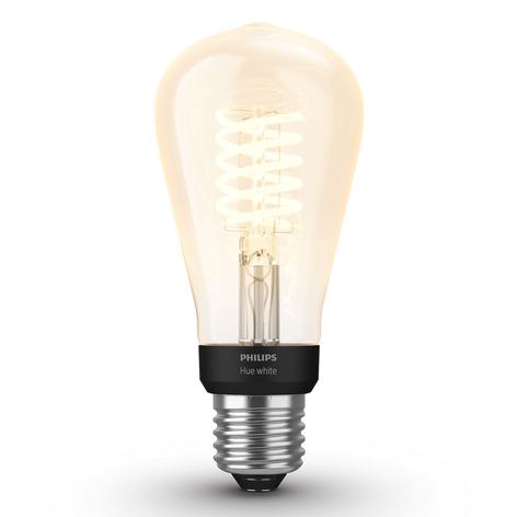 Philips Hue White E27 filamentlampa Rustika ST64