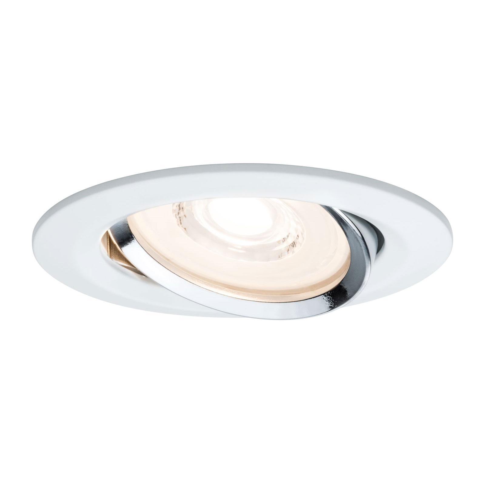 Paulmann Reflector Coin LED-Einbaustrahler, 3er