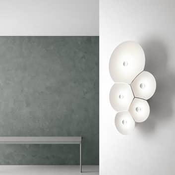 Luceplan Bulbullia -LED-seinävalaisin 5-lamppuinen