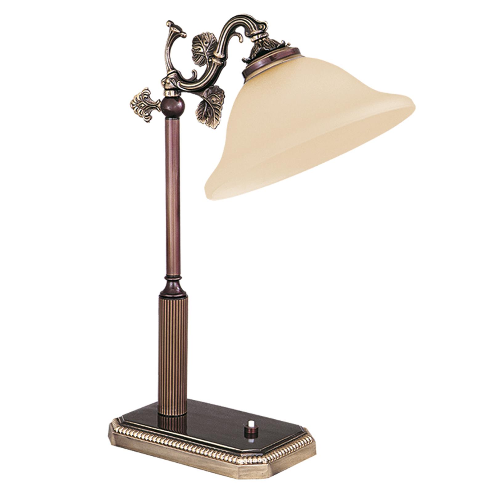 Smuk bordlampe fra RIALTO-serien rav