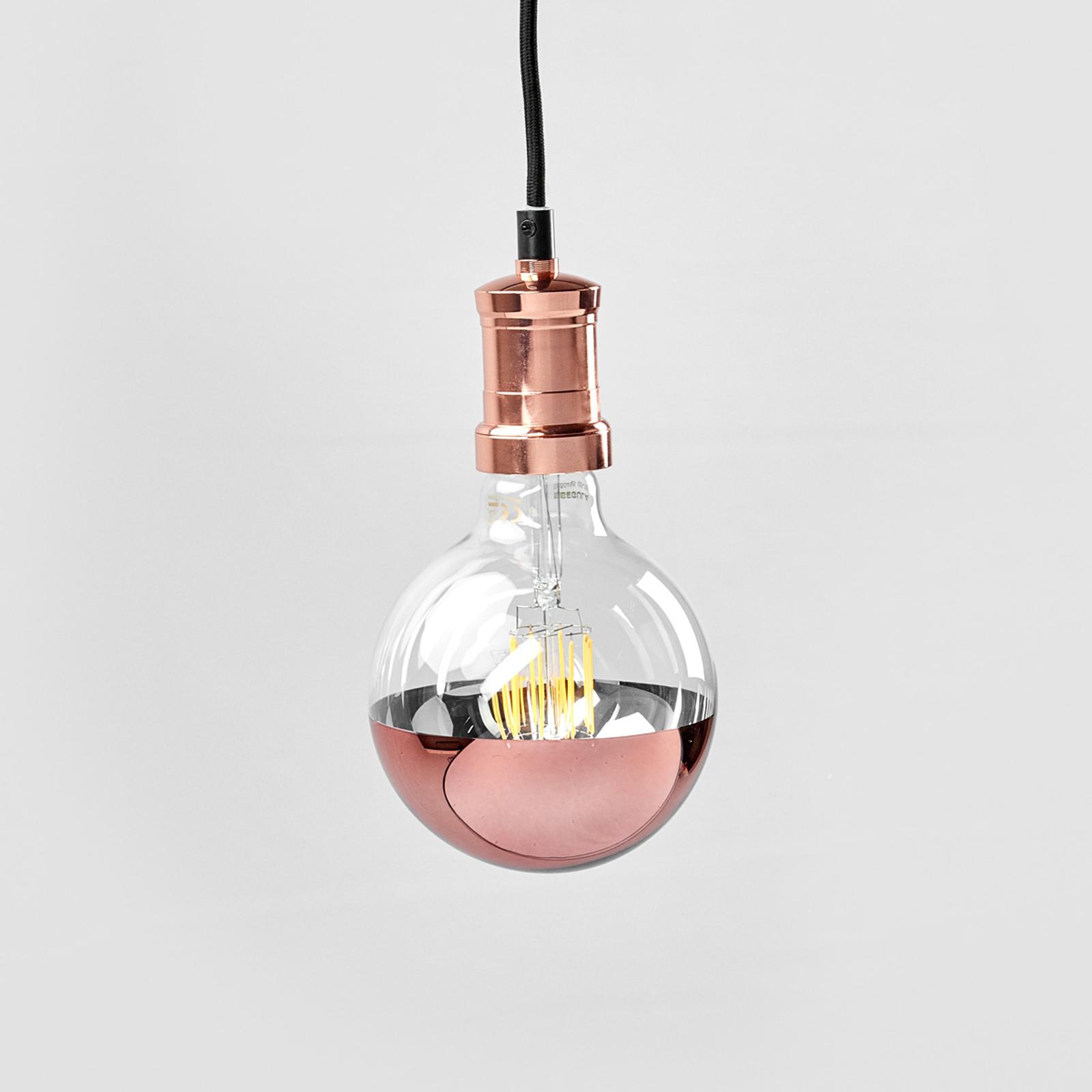 Lampa wisząca LED Chicago w kolorze miedzi