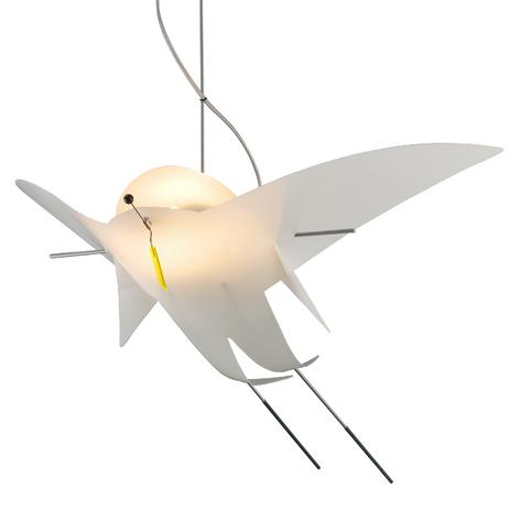OLIGO Sir Charles stropní světlo ztvárnění ptáka