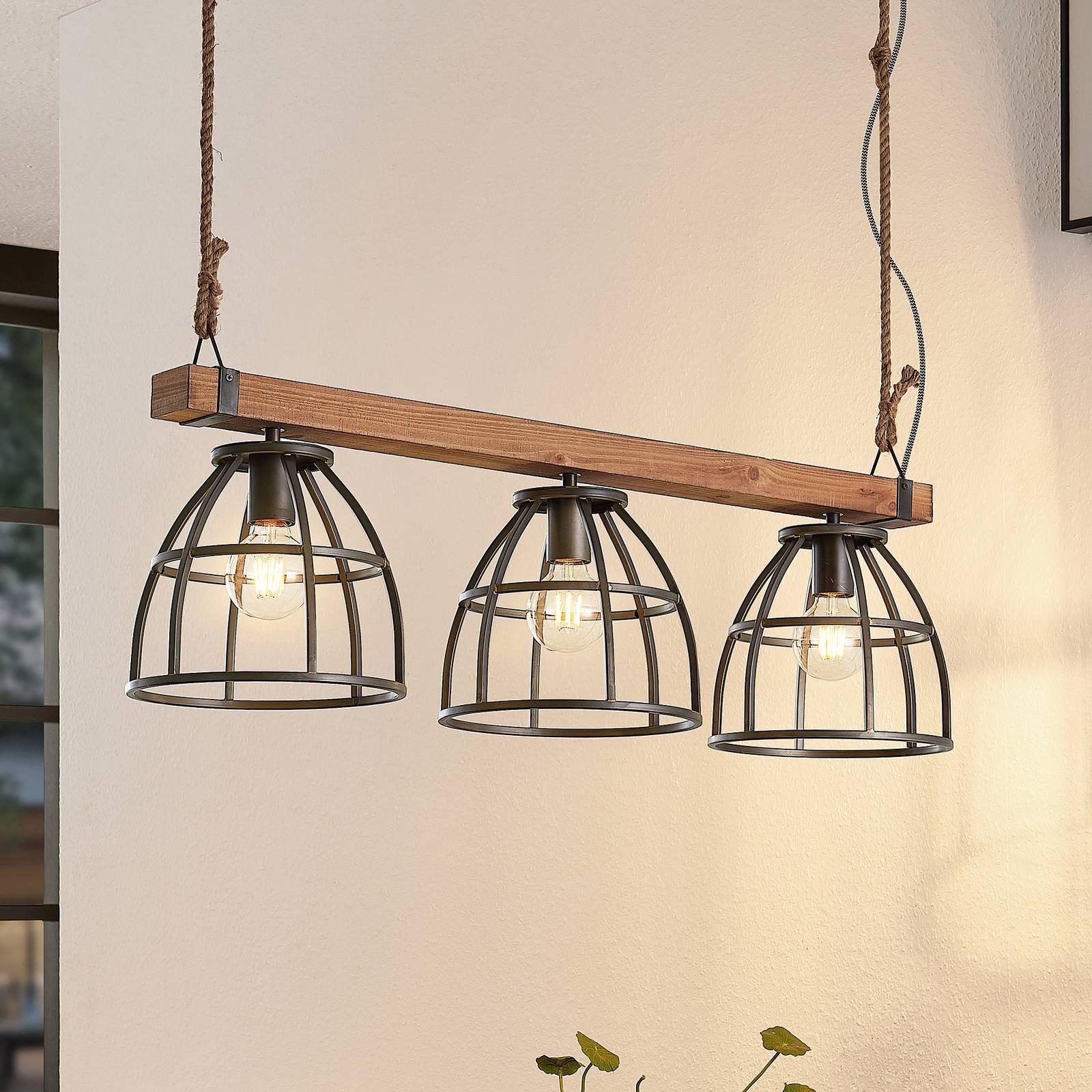 Lindby Tarina suspension, à 3 lampes