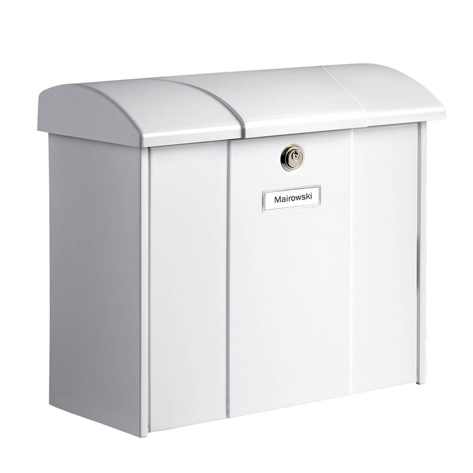 Olymp postkasse i hvid