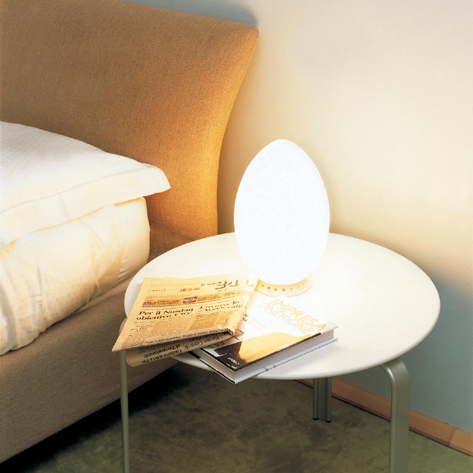 Lampada da tavolo UOVO di Fontana Arte, 18 cm