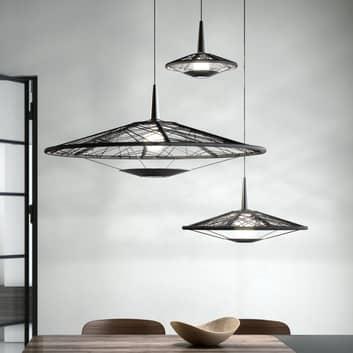Forestier Carpa S/M/L hanglamp, zwart