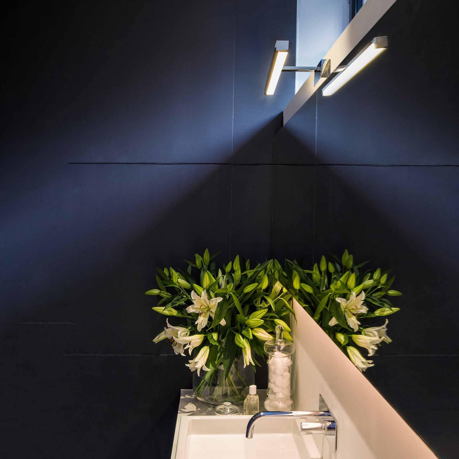 Astro Kashima 620 applique miroir LED chromée 62cm
