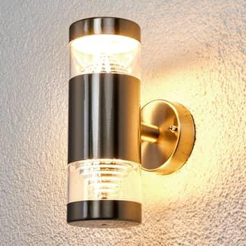 Lámpara pared exterior LED de 2 focos Lanea