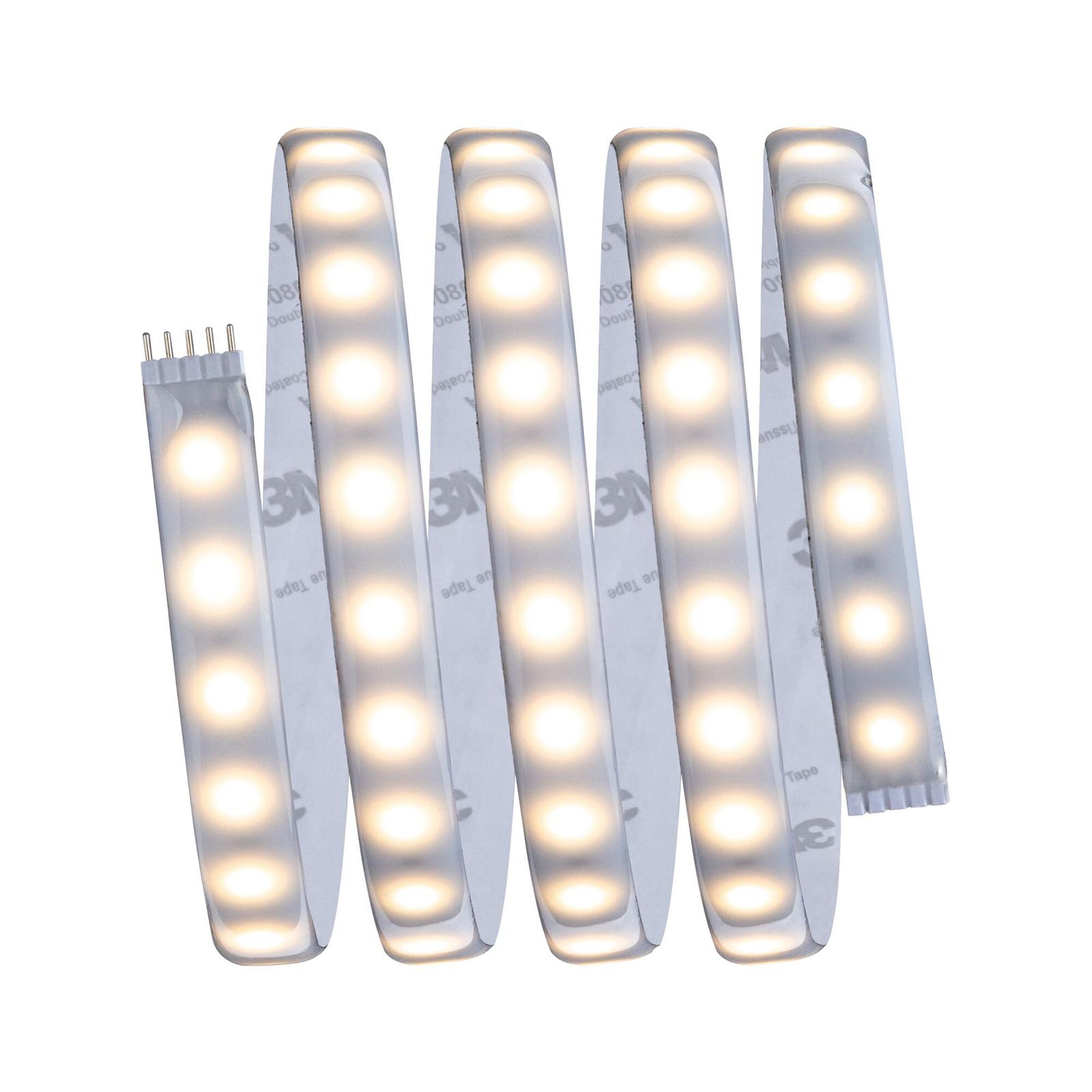 Grunnpakke MaxLED LED-stripe 150 cm hvit justerbar