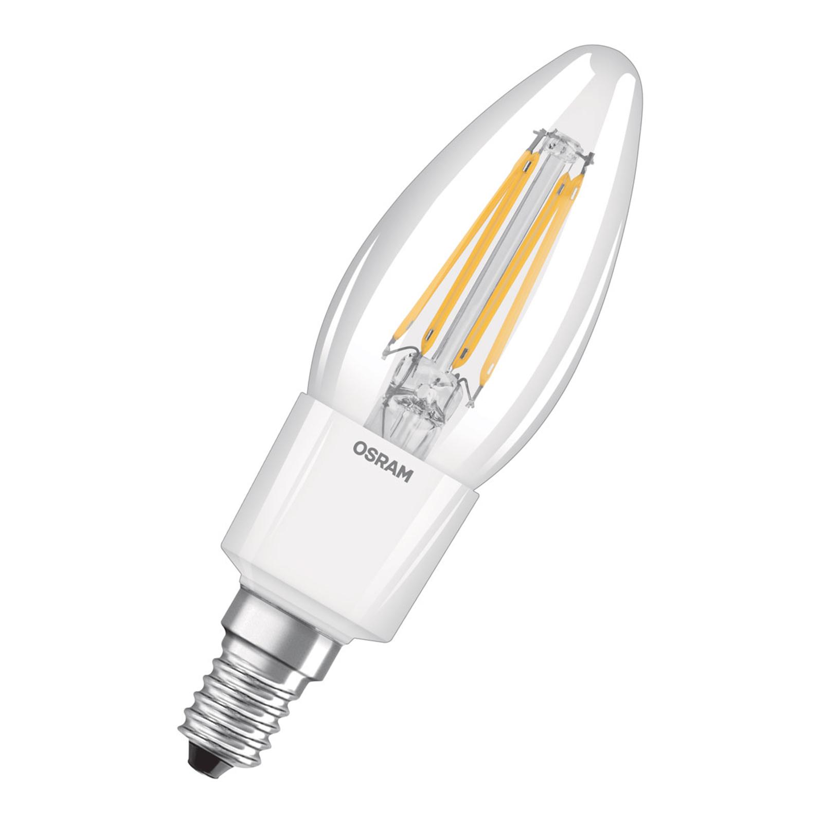 OSRAM LED-Kerzenlampe E14 6W Classic B 2.700K klar