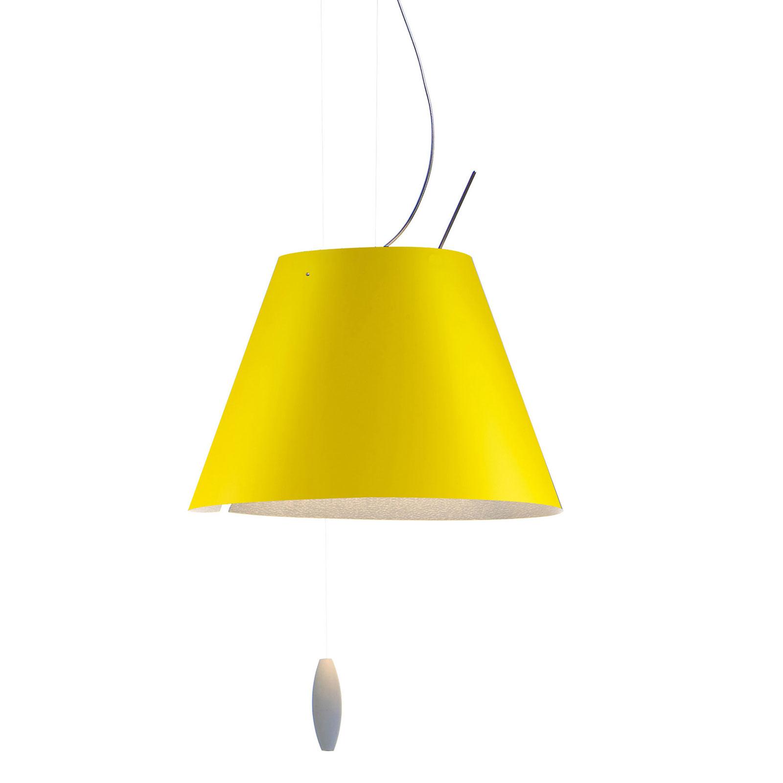 Luceplan Costanzina lampa wisząca żółta