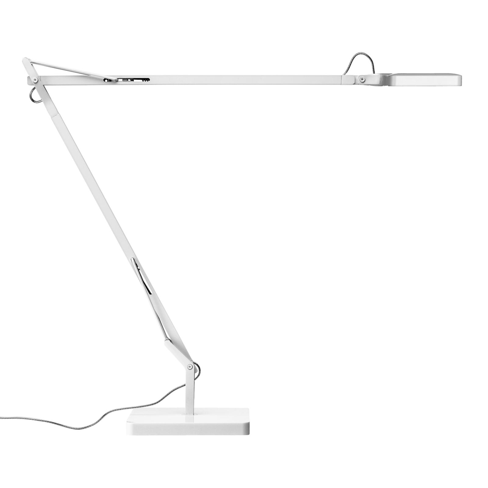 Lampe à poser LED Kelvin Edge blanche