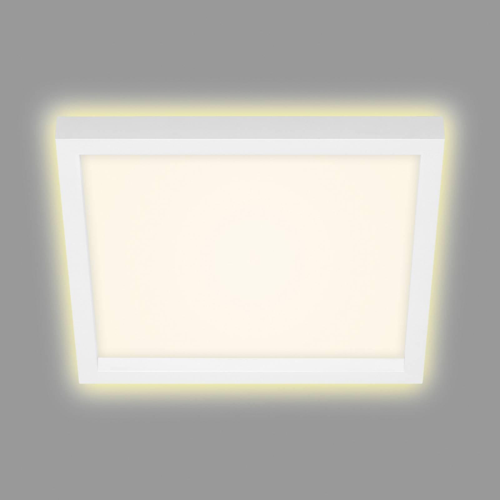 Lampa sufitowa LED 7362, 29 x 29 cm, biała