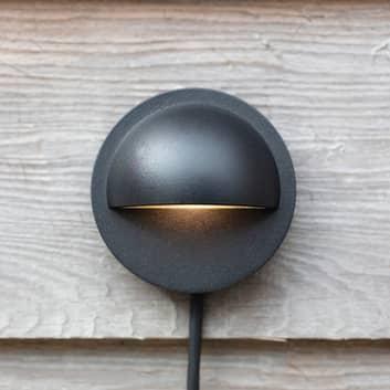 Garden 24 LED-vägglampa Wall, rund