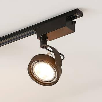 1-fazowy reflektor LED Rick, czarny