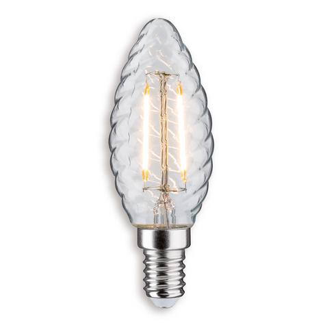 E14 2,5W 827 LED-kynttilälamppu kierteinen