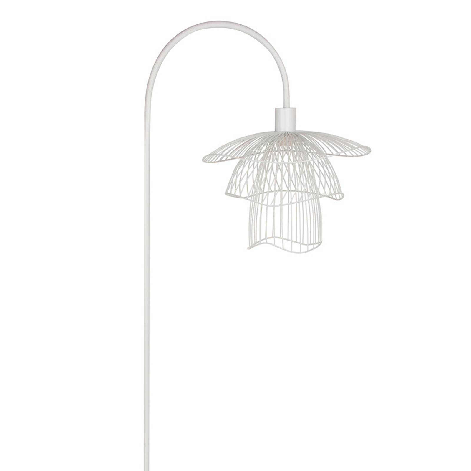Forestier Papillon XS vloerlamp, wit
