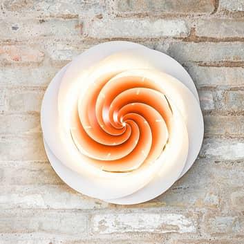 LE KLINT Swirl - koperkleurige wandlamp
