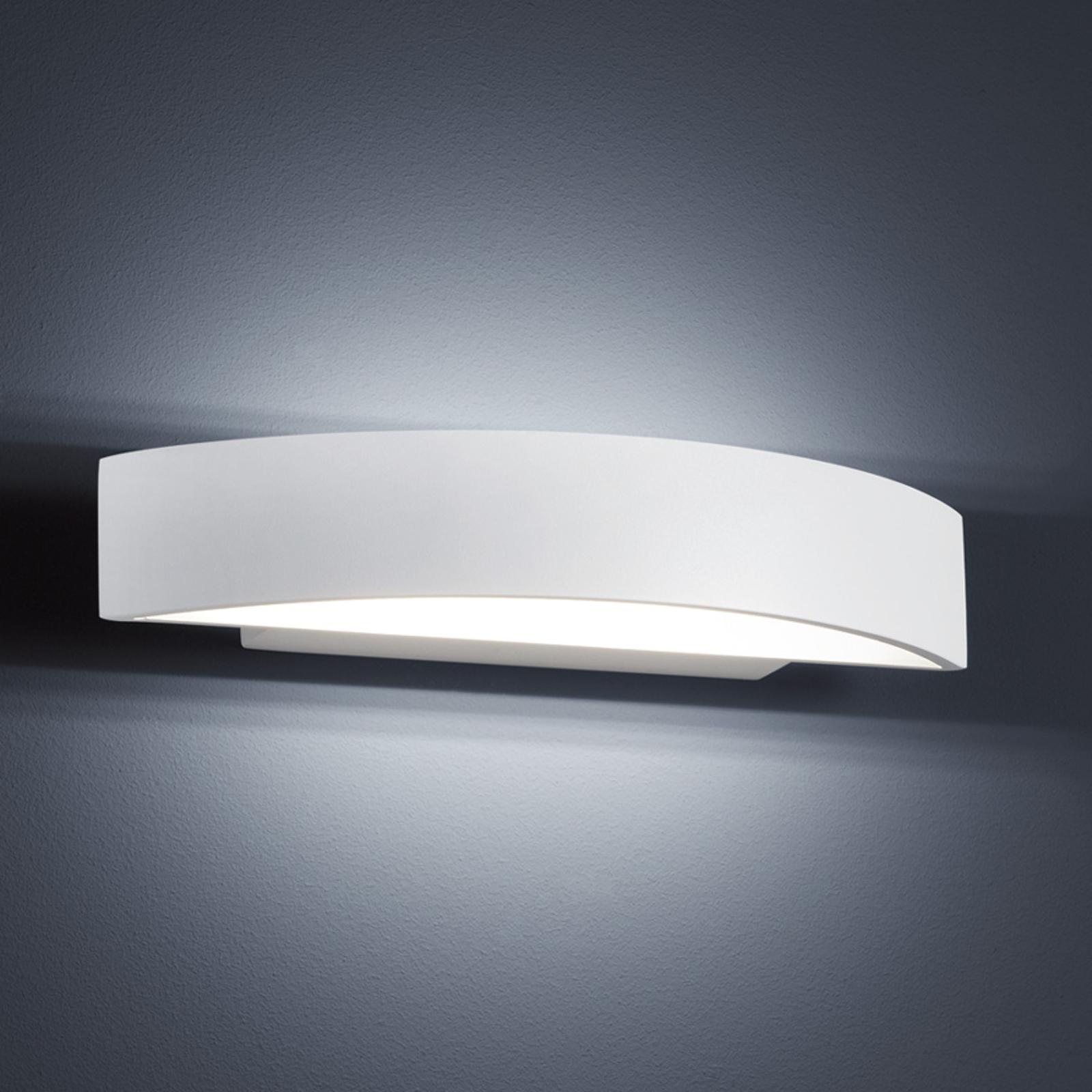 Helestra Yona LED-Wandlampe, weiß, 27,5 cm