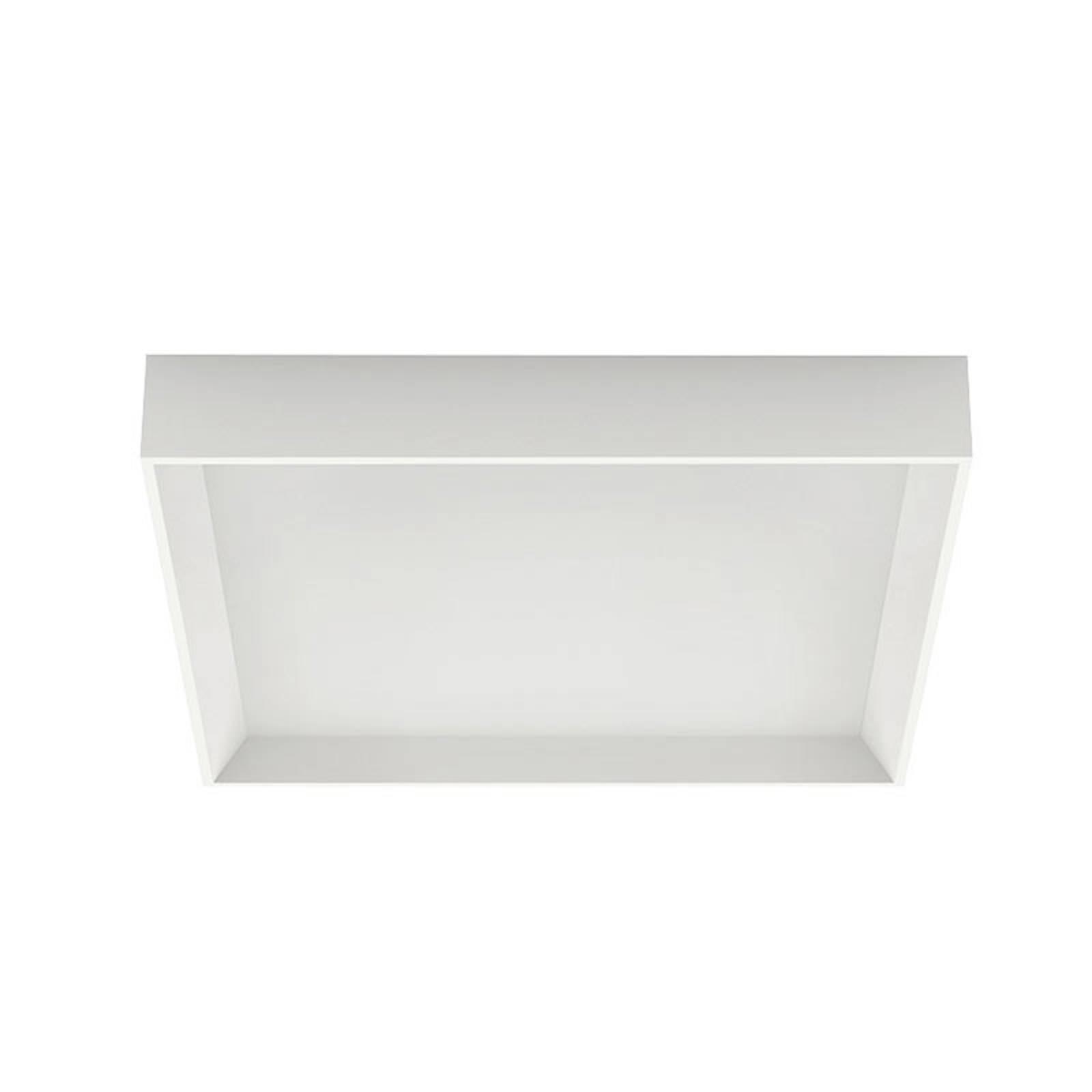 LED plafondlamp Tara Q, hoekig, 40 x 40 cm