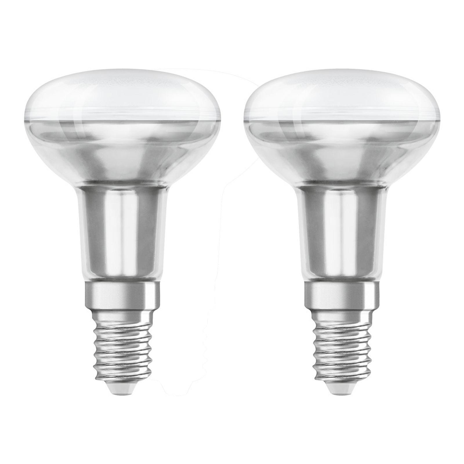 OSRAM reflektor LED E14 3,3W 2700K 36° 2 szt.