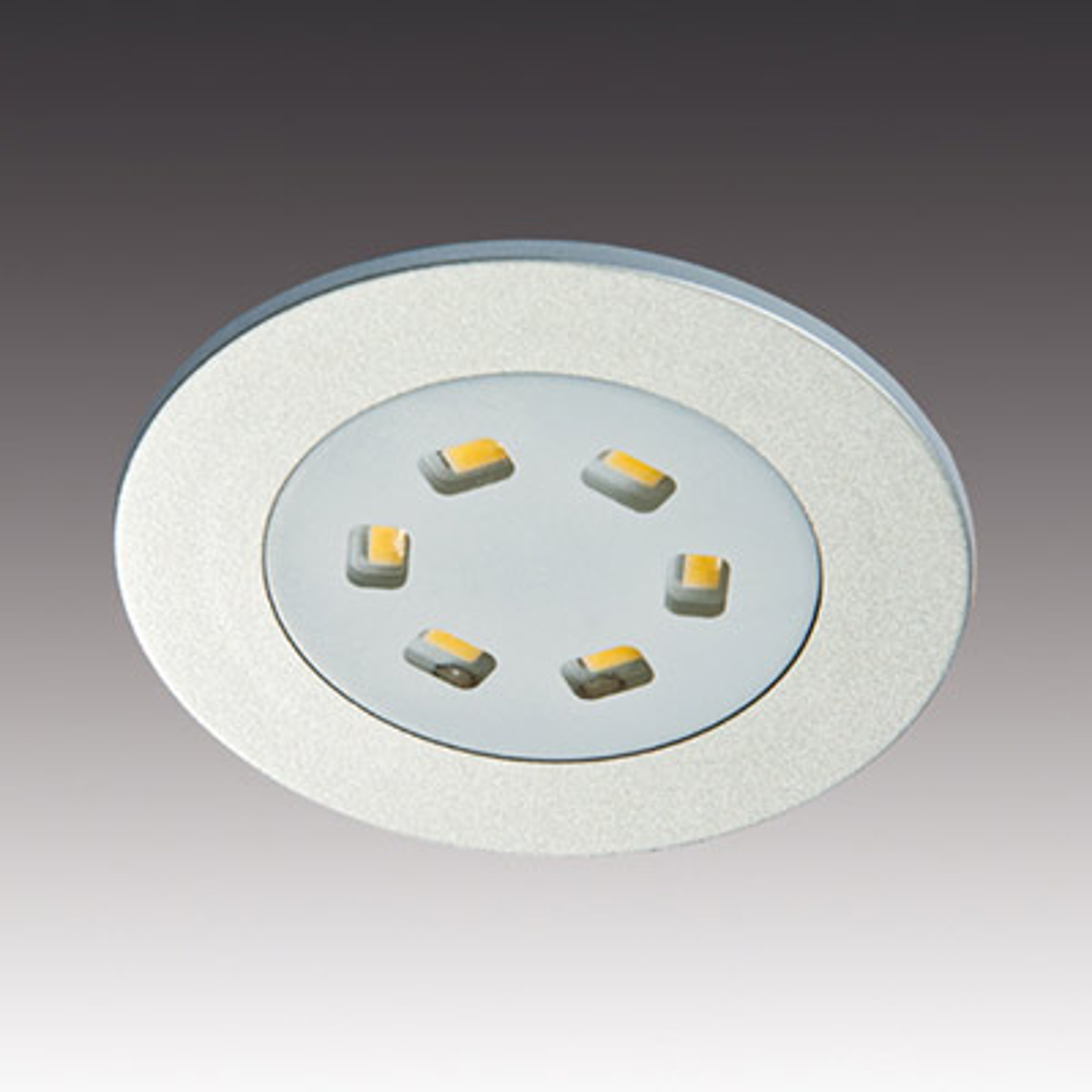Den flade integrerede lampe R 55
