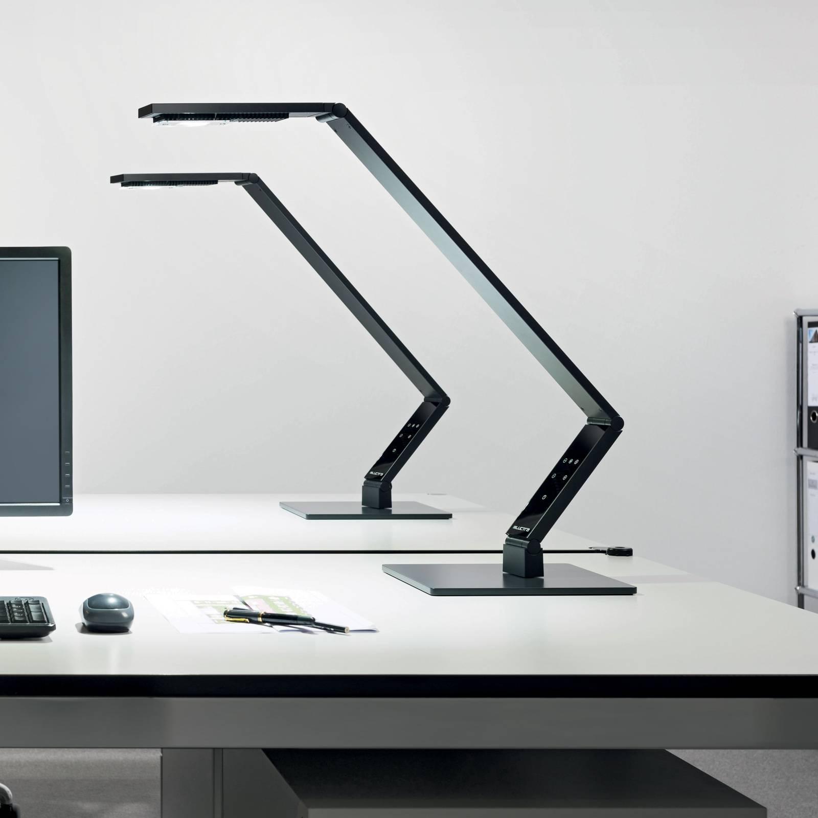 Luctra Table Lineair LED tafellamp voet zwart