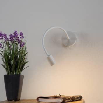 Flexibele LED wandlamp Focus, wit