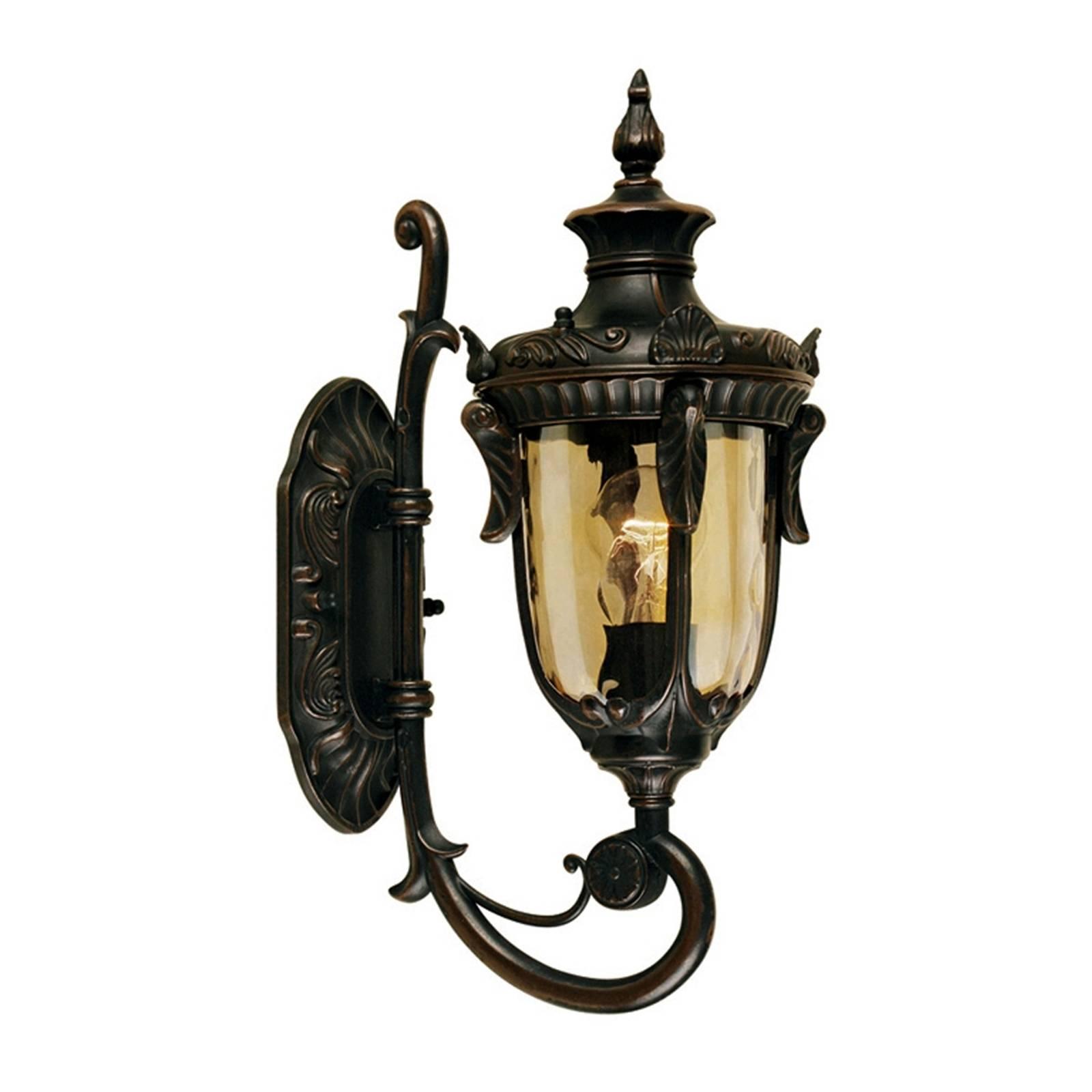 Historische buitenwandlamp PHILADELPHIA, 43 cm