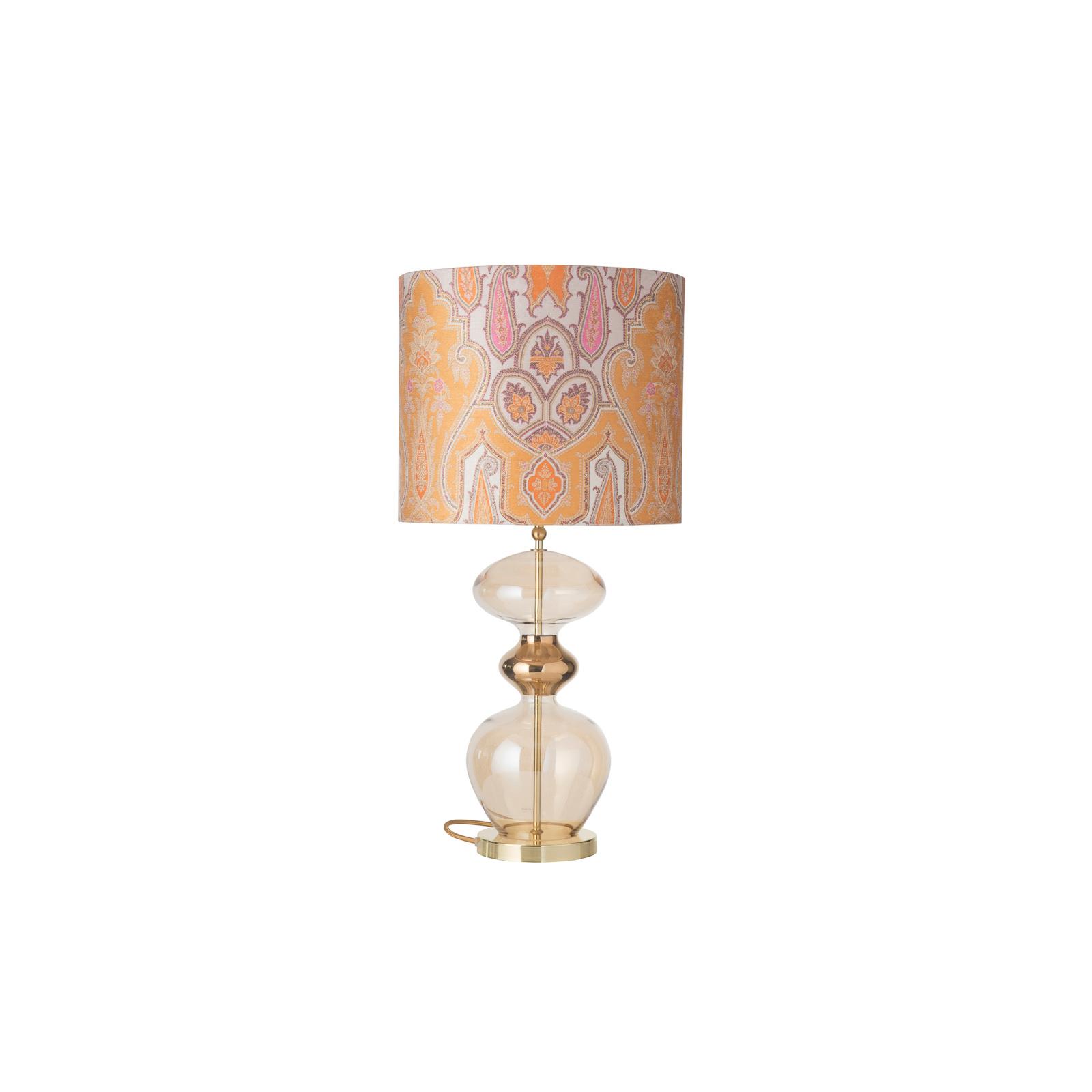 EBB & FLOW Futura lampa stołowa, Brocade yellow