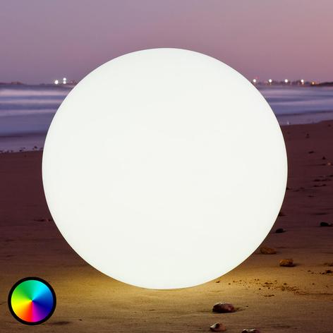 Globe -LED-koristevalaisin, kelluva