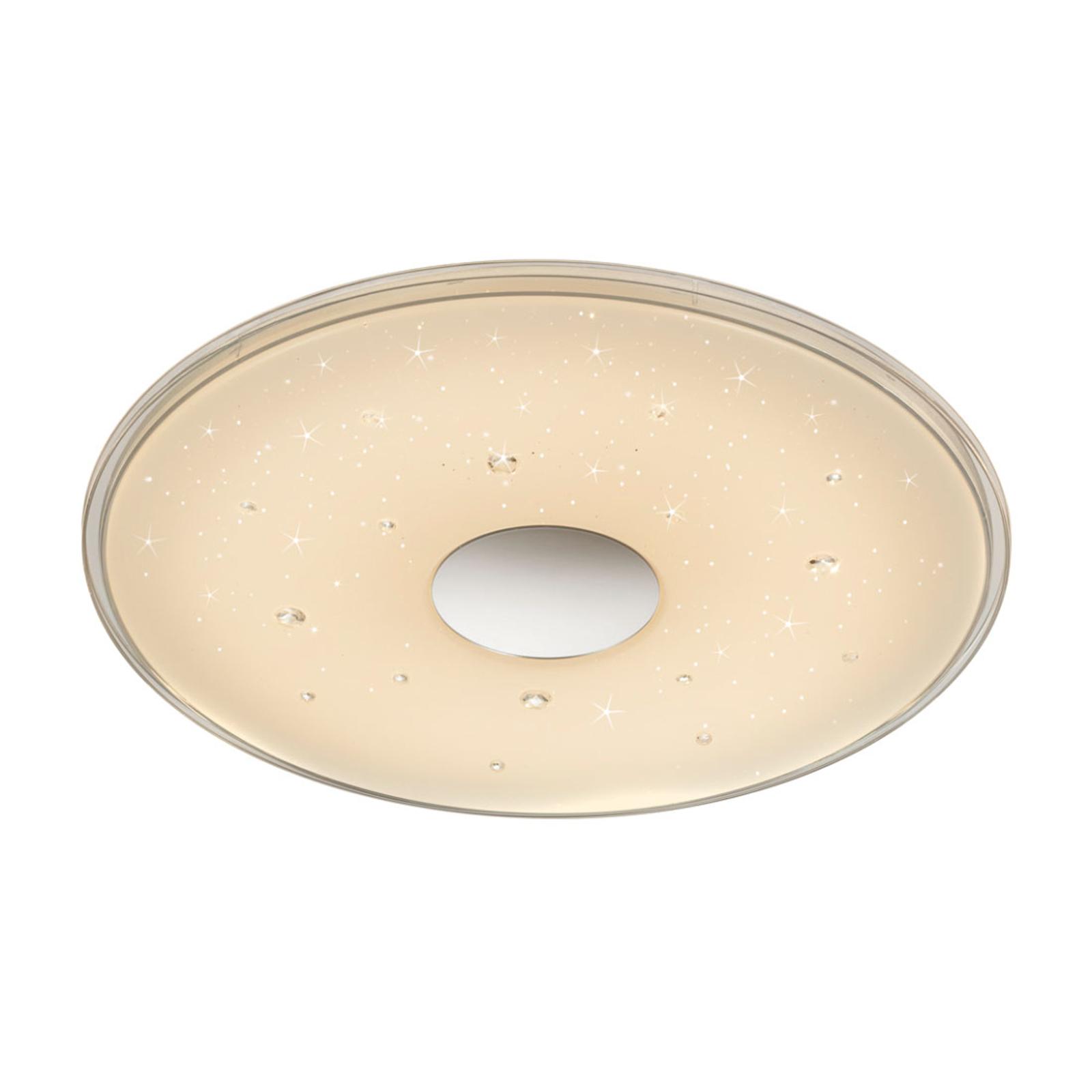 Lampa sufitowa LED Seiko, starlight, Ø 42,5cm