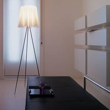 ROSY ANGELIS standerlampe med sølvfarvet stel
