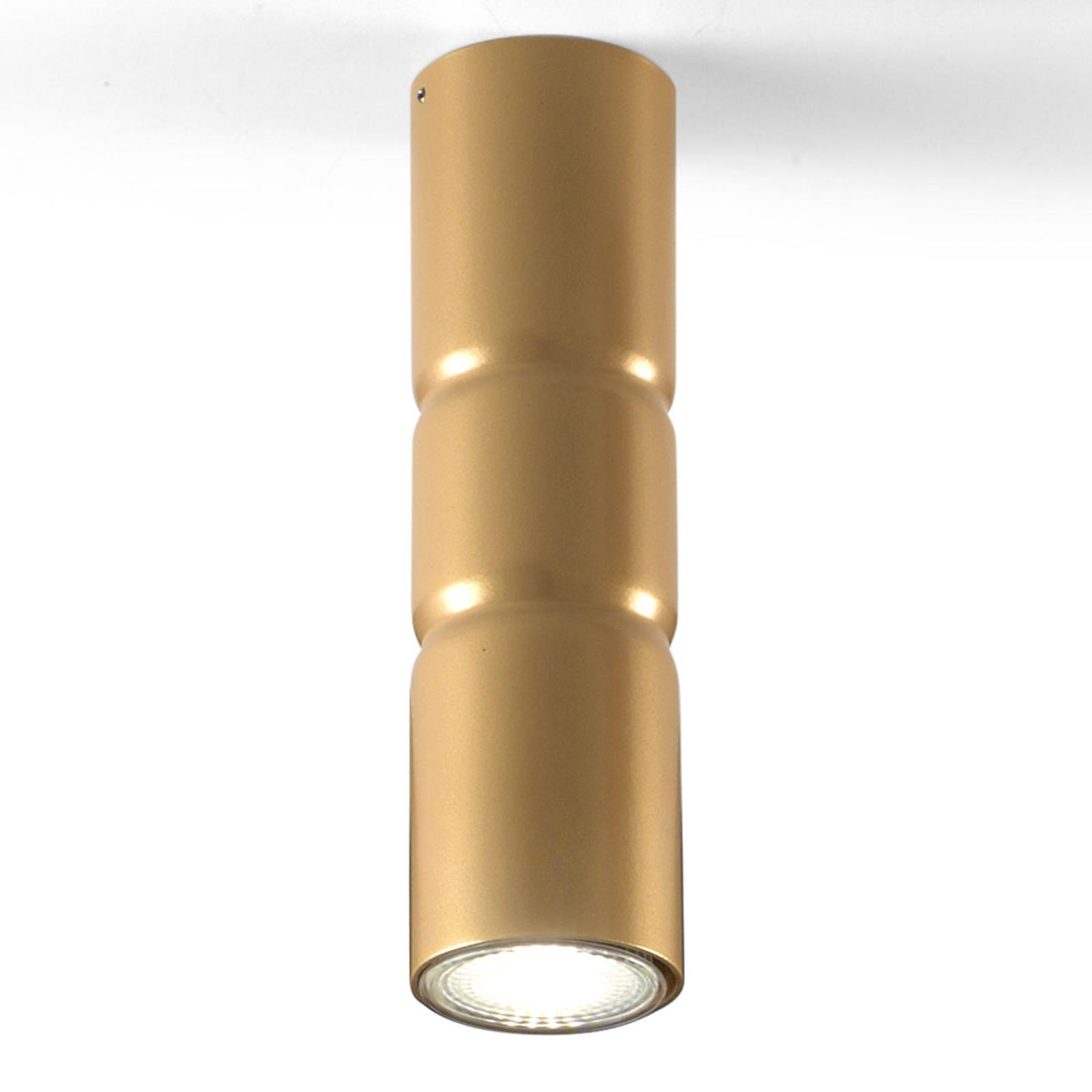 Lampa sufitowa Turbo, stała, złota